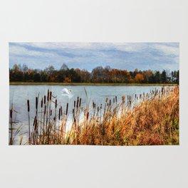 Autumn Swan Rug