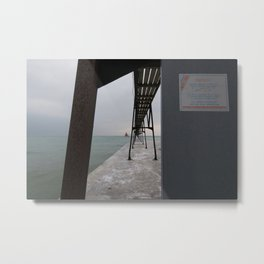 Canal Station Metal Print