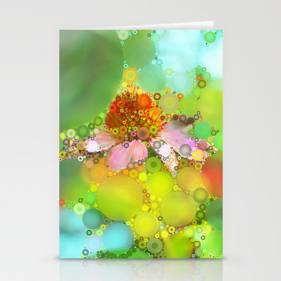 Pink Flower of Summer Stationery Cards