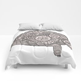 Tangled Steampunk Tortoise Comforters