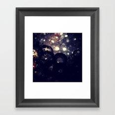 Datadoodle Sparkle Framed Art Print