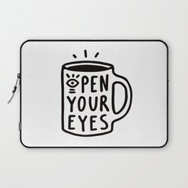 Open Your Eyes Laptop Sleeve