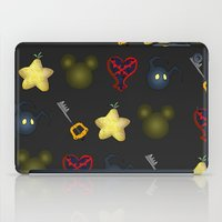 kingdom hearts iPad Cases featuring Kingdom Hearts Pattern by Caleb Cowan