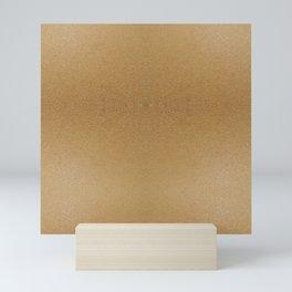 Natural Ombre Texture Mini Art Print