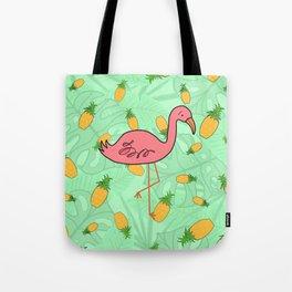 The Final Flamingle Tote Bag