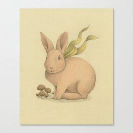 Pink Bunny Canvas Print