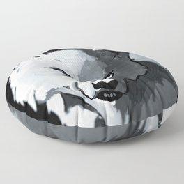 Wolf 4 Floor Pillow