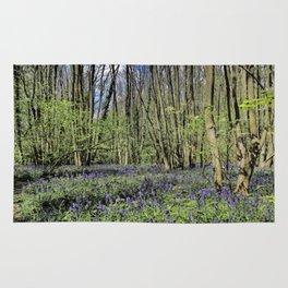 Everdon Stubbs Wood Bluebells Rug