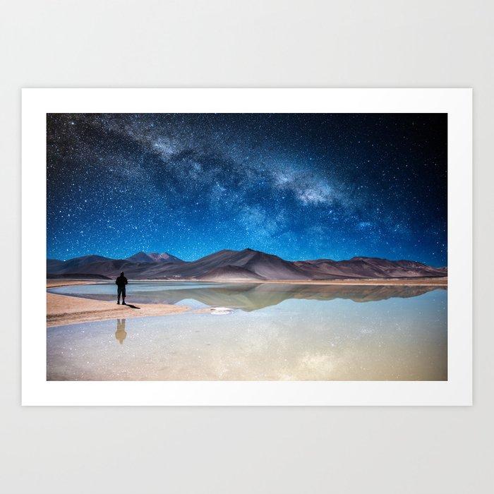Piedras Rojas, Atacama Kunstdrucke