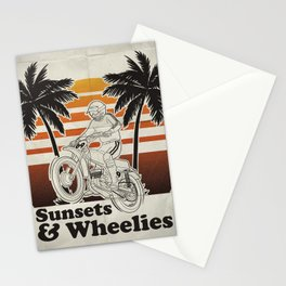 Sunsets & Wheelies Stationery Cards