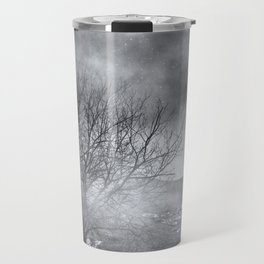 Dark Night Sky Paradox Travel Mug
