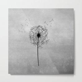 Dandelion Part III. Metal Print