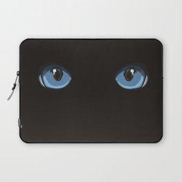 Black Ninja Cat Laptop Sleeve