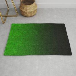 Green & Black Glitter Gradient Rug