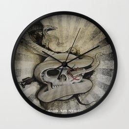 Mors Tua Vita Mea Wall Clock