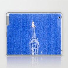 Night of Blue over Milan Laptop & iPad Skin