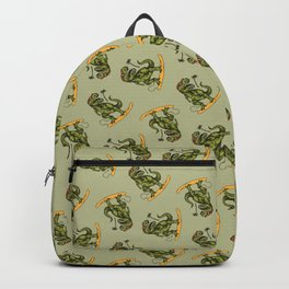 Dinosaur Surfer Backpack