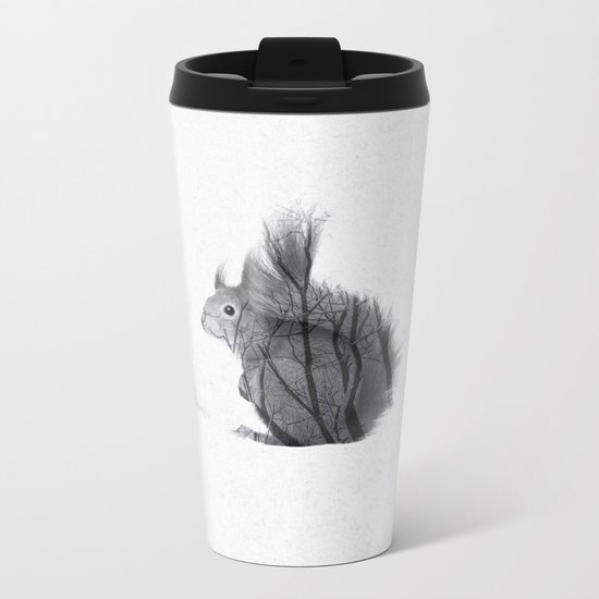 Up The Branches Metal Travel Mug