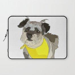 Thor the Rescue Dog Laptop Sleeve