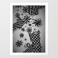 celebrity Art Prints featuring Celebrity Walk by rzer0x