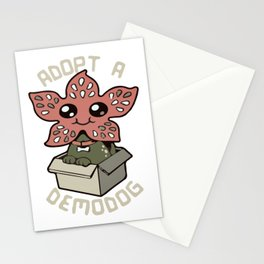 Stranger pet Stationery Cards