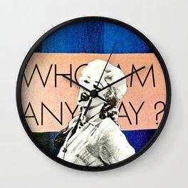 Who Am I Wall Clock