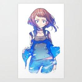 Uraraka Art Print