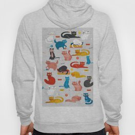 Playful Cats - illustration Hoody