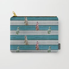 Meercat Beach Stripes Carry-All Pouch