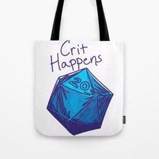 Crit Happens D20  Tote Bag