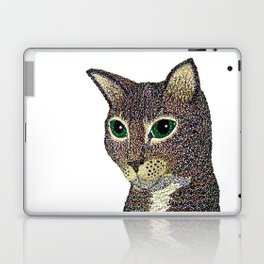 Curly Cat Laptop & iPad Skin