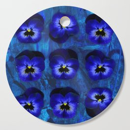 Deep Blue Velvet Cutting Board