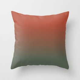 Sunset in the Marsh Throw Pillow