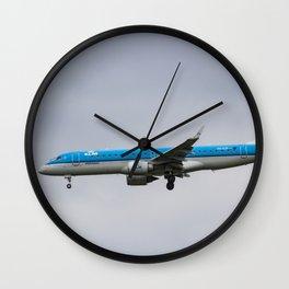 KlM Embraer 190 Wall Clock