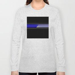 Team Colors 5...Blue Long Sleeve T-shirt