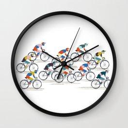 Ride to Win Wall Clock