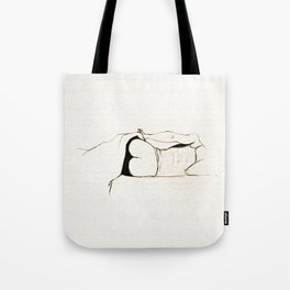 Bedtime - Black and White series Tote Bag