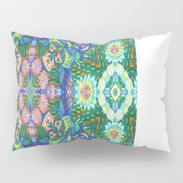 Fun Birds in Rainforest by Sarah Liz Walker Pillow Sham