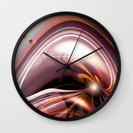 """""""Road To Infinity 2"""" Wall Clock"""