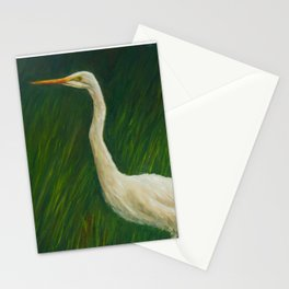 Wading in the Marsh Stationery Cards