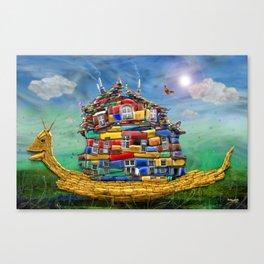 My sweet Home Canvas Print