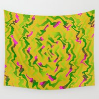 fabric Wall Tapestries featuring Fabric R by Vitta
