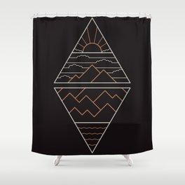 Earth Air Fire & Water Shower Curtain