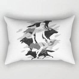 Wolves 02 Rectangular Pillow