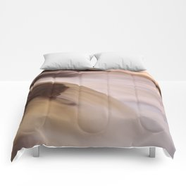 Swallow Falls Close-up Comforters
