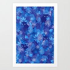 Foliage Disguise Art Print