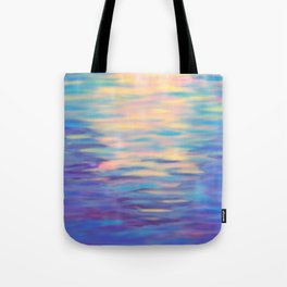 Rainbow Reflections Tote Bag