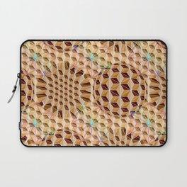 Geodesic Asanoha (Wooden) Laptop Sleeve