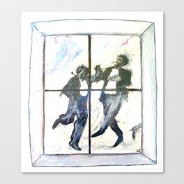 Dancing Men Canvas Print