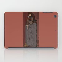 hallion iPad Cases featuring ....to find a way out! by Karen Hallion Illustrations